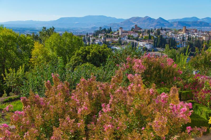 Изумляя Гранада, Испания стоковое фото