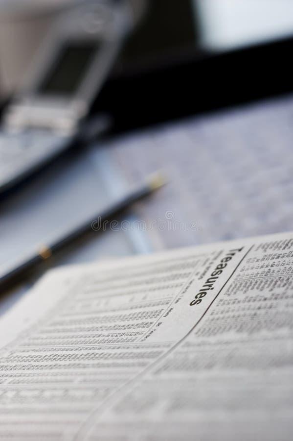 изучать казначейства Стоковое фото RF
