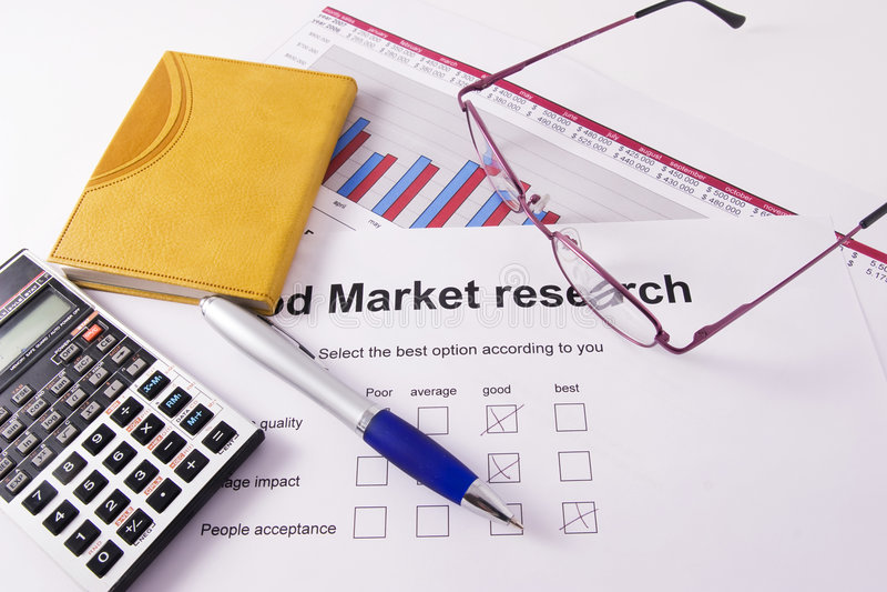 изучение рыночной конъюнктуры стоковое фото