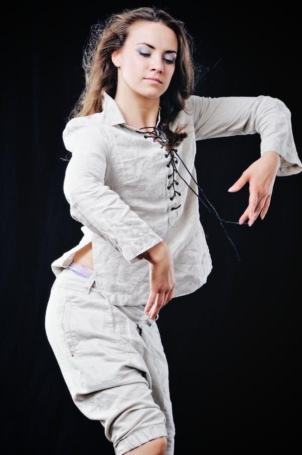 изучение танцульки к стоковое изображение rf