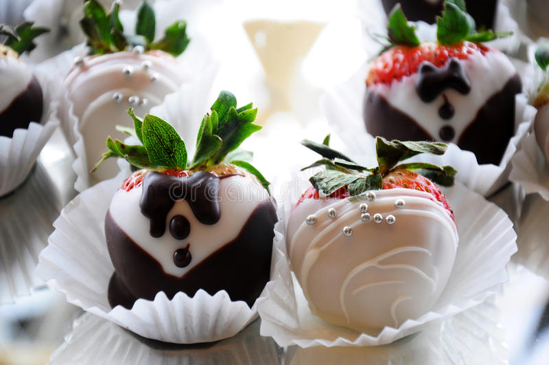 Изысканная свадьба десерта стоковые фото