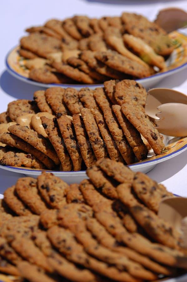 изюминка oatmeal печений стоковая фотография rf