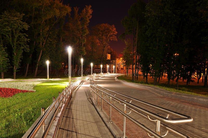 Из комплекса парка стоковое изображение rf