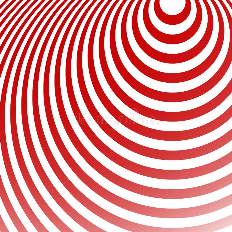 Download Излучать картину кругов Творческая Monochrome предпосылка в Squ Иллюстрация вектора - иллюстрации насчитывающей эллипсисы, геометрия: 81813069