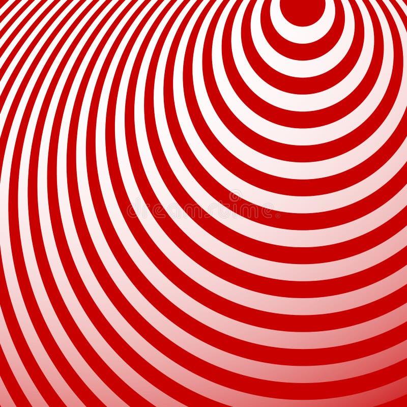 Download Излучать картину кругов Творческая Monochrome предпосылка в Squ Иллюстрация вектора - иллюстрации насчитывающей круг, backhoe: 81813075