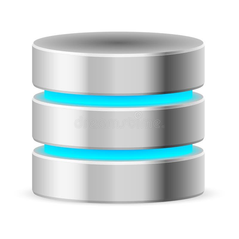 Икона базы данных бесплатная иллюстрация