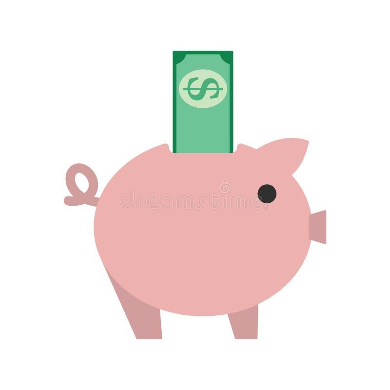 икона банка piggy иллюстрация штока