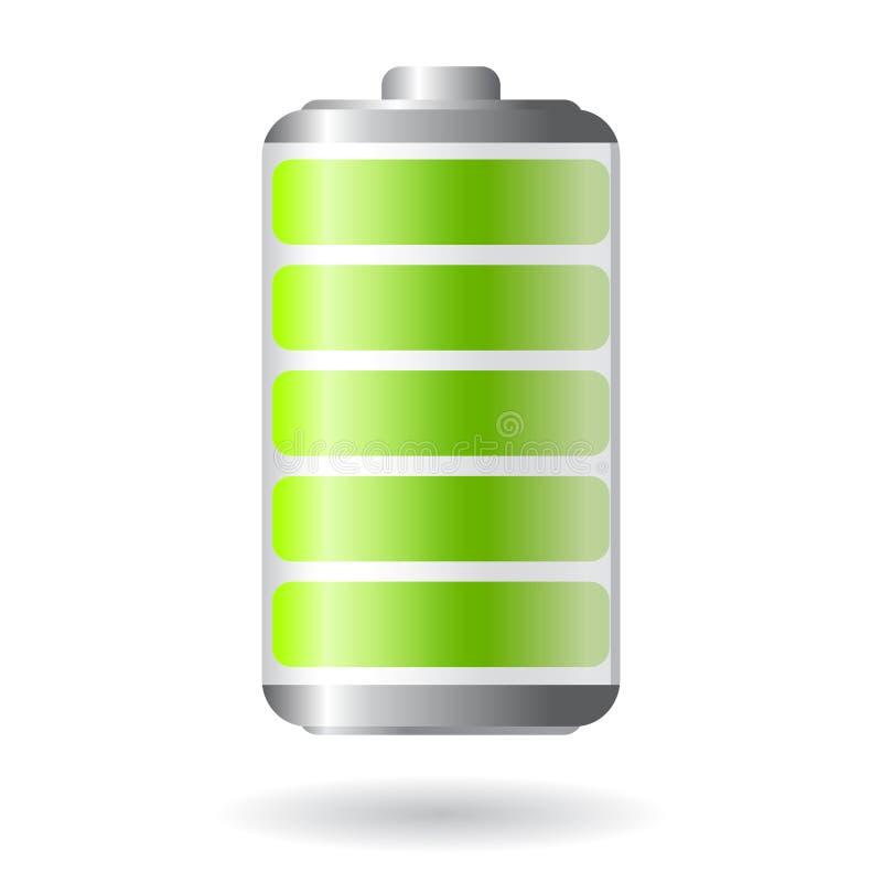 Икона батареи вектора бесплатная иллюстрация