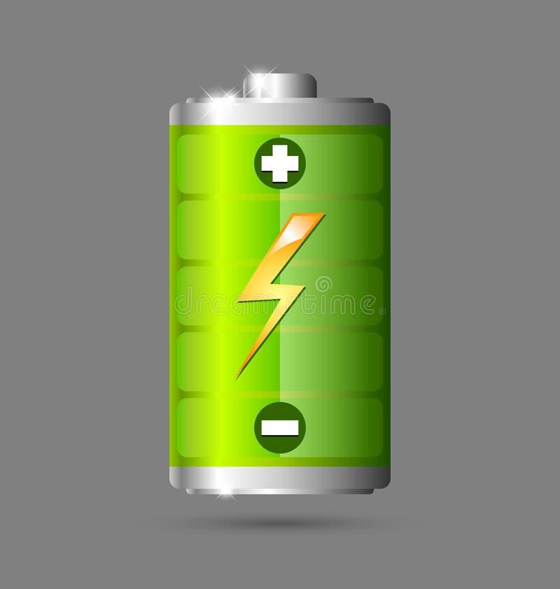 Икона батареи бесплатная иллюстрация