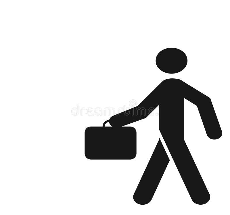 икона бизнесмена стоковое изображение rf