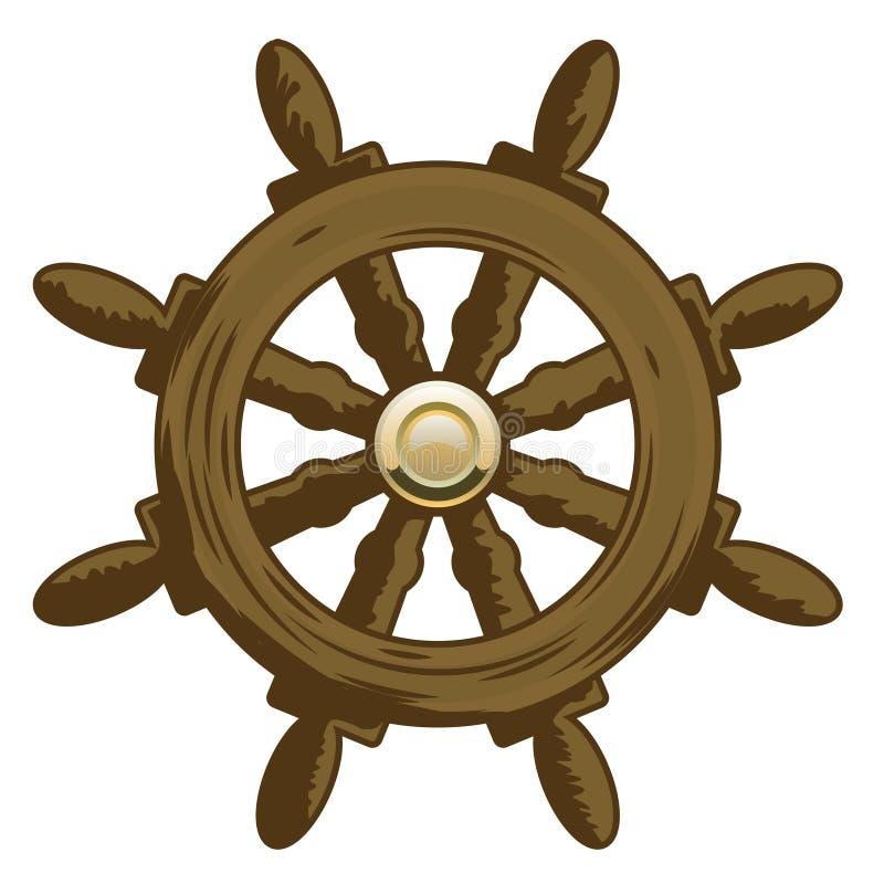 Икона вектора колеса иллюстрация штока