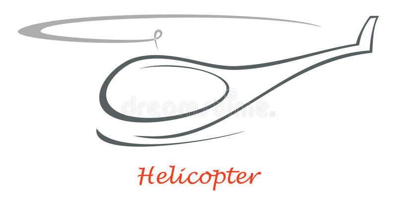 икона вертолета бесплатная иллюстрация