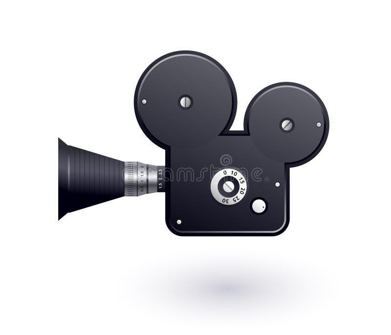 Икона видеокамеры иллюстрация вектора