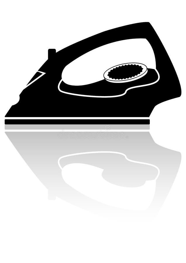 Икона в форме утюга иллюстрация штока