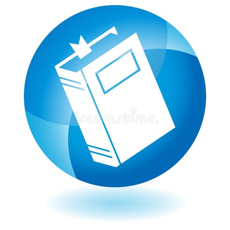 икона голубой книги бесплатная иллюстрация