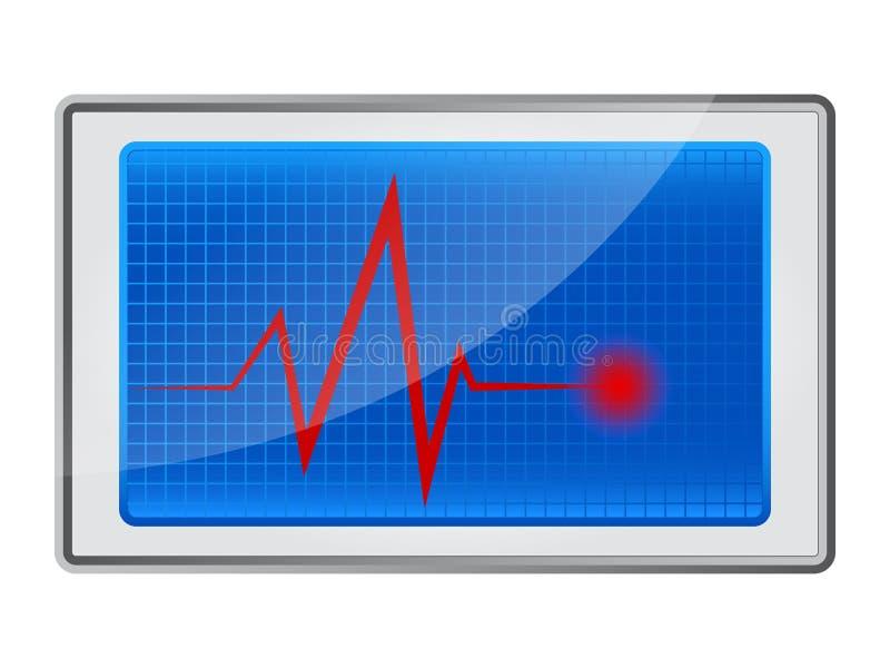 Икона диагностик иллюстрация вектора