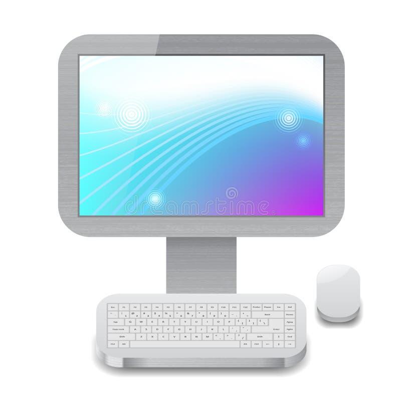 Икона для персонального компьютера иллюстрация вектора
