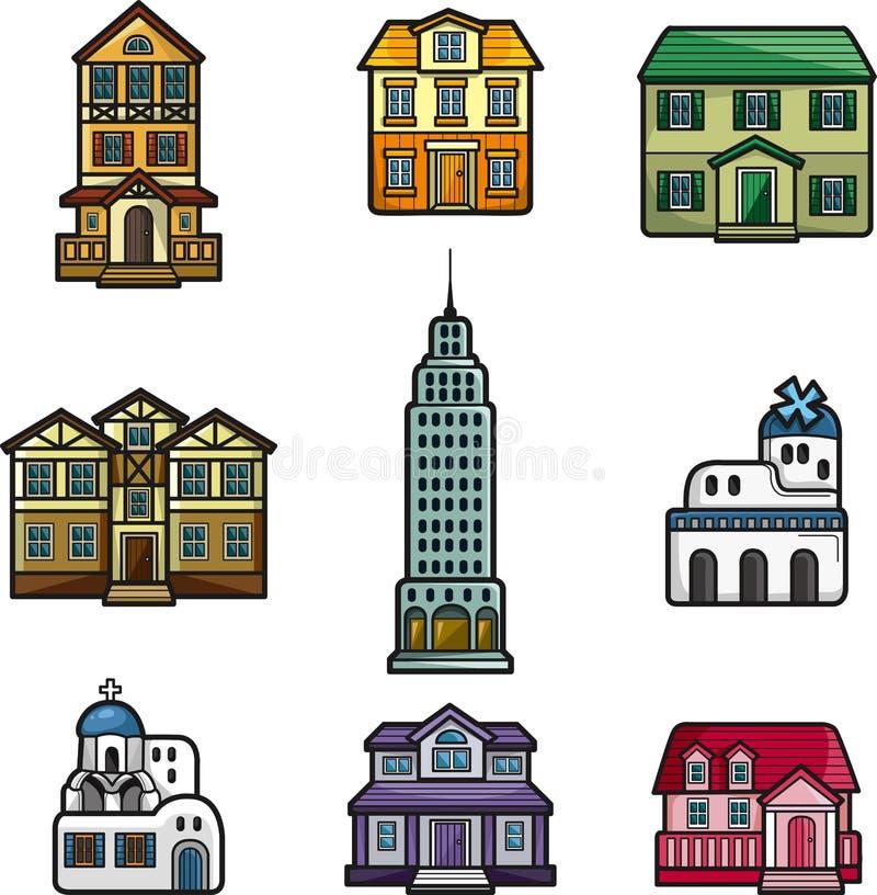 икона дома шаржа бесплатная иллюстрация