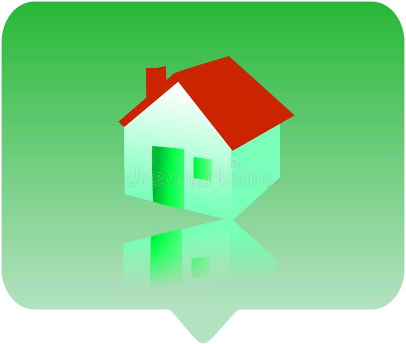 икона дома иллюстрация вектора