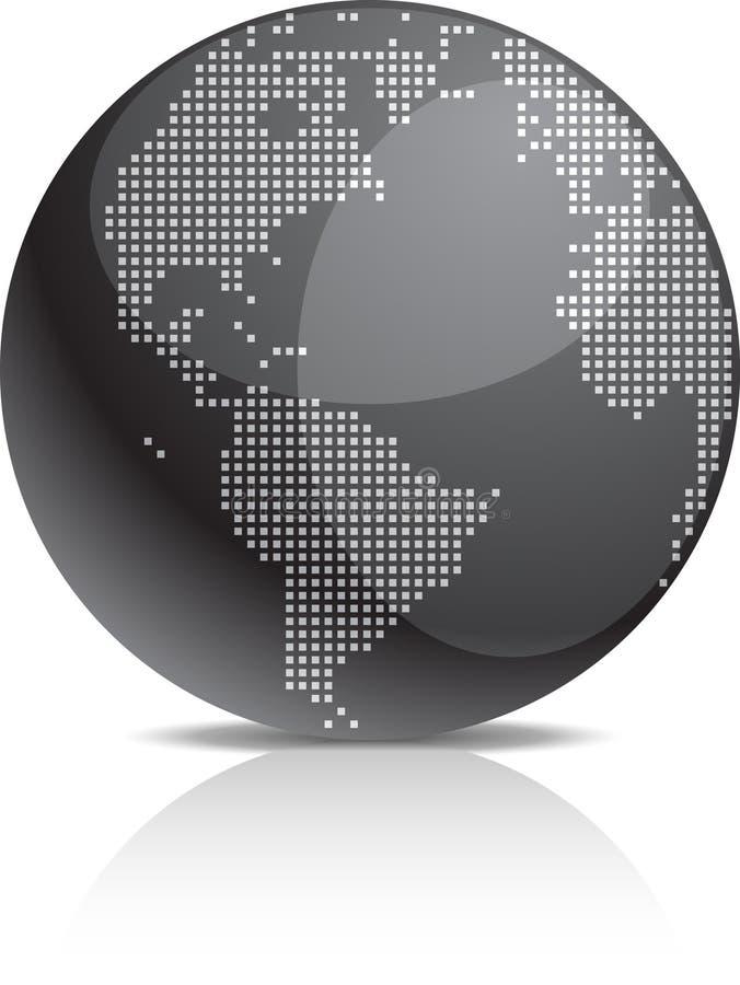 икона земли иллюстрация вектора