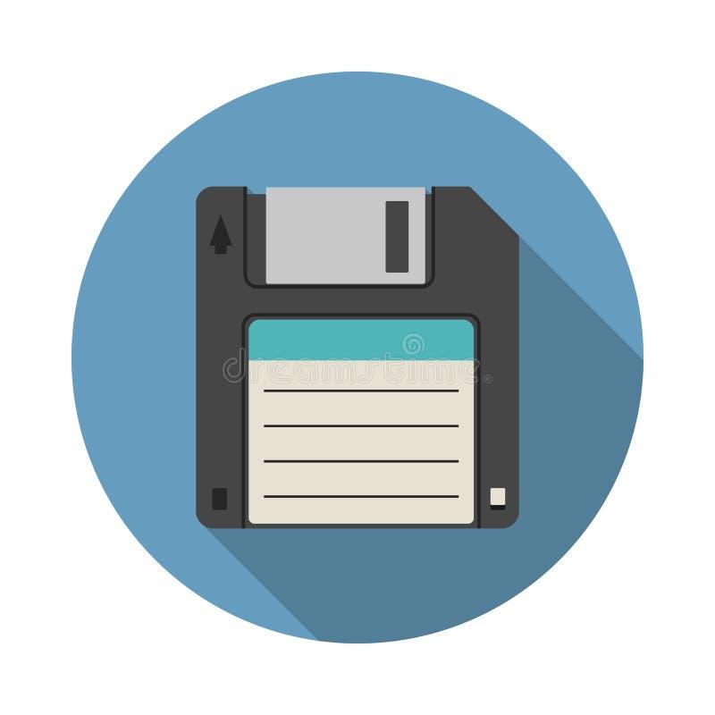 икона диска неповоротливая магнитная иллюстрация штока