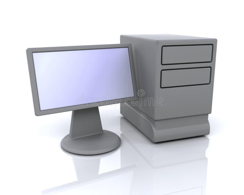 икона компьютера моя иллюстрация вектора