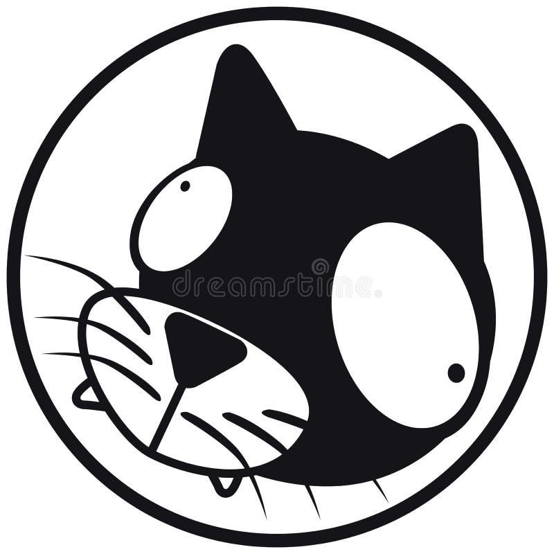 икона кота b pets w бесплатная иллюстрация