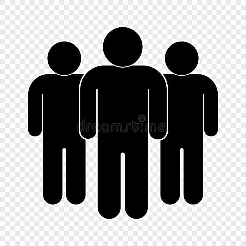 Икона людей иллюстрация штока