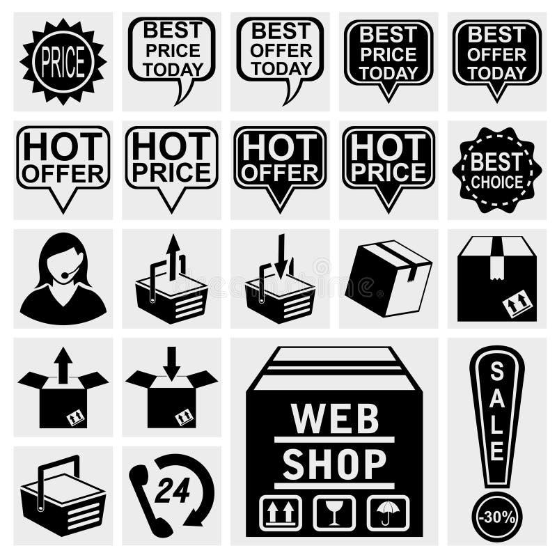 Икона магазина сети бесплатная иллюстрация