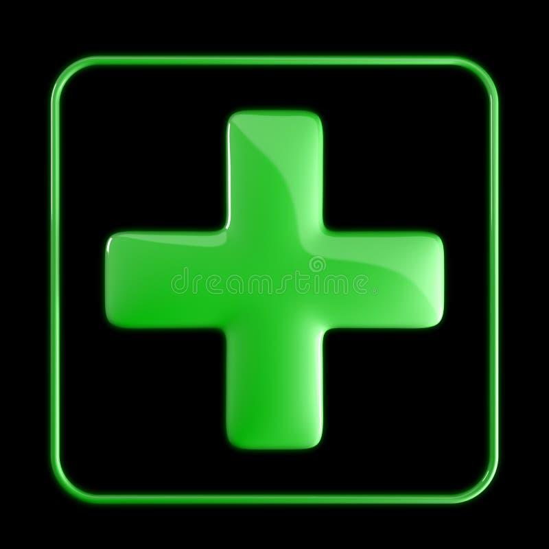 икона медицинская иллюстрация штока