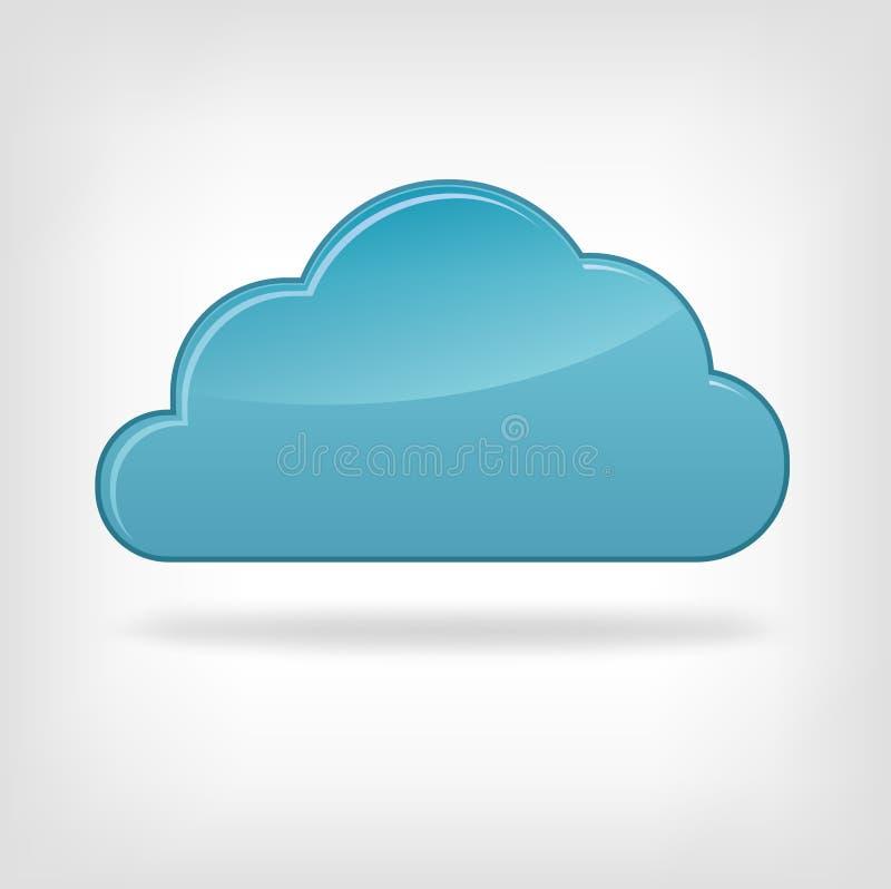 икона облака бесплатная иллюстрация