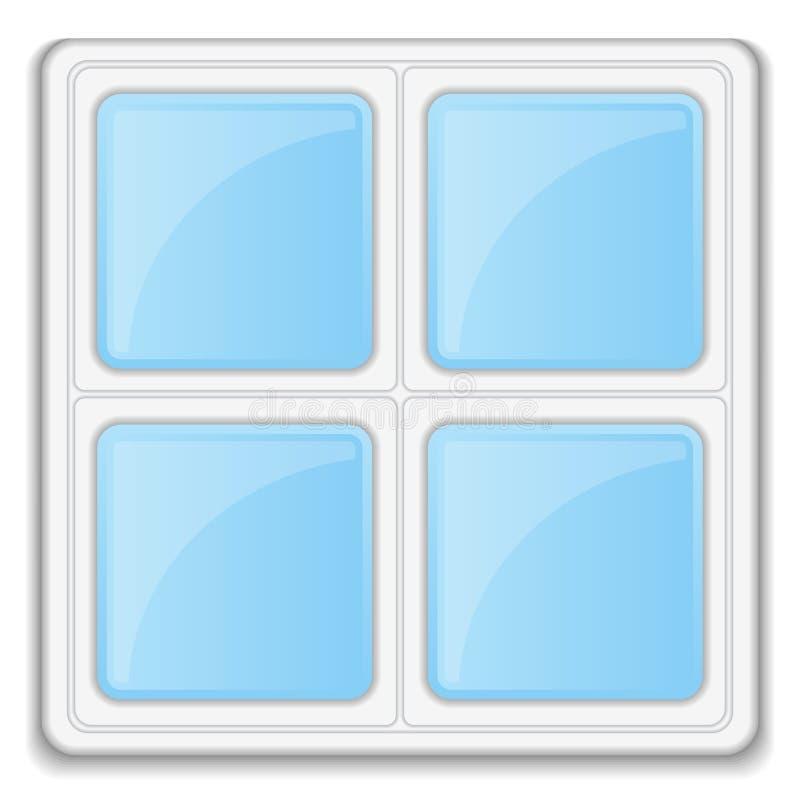 Икона окна бесплатная иллюстрация