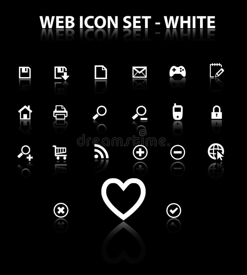 икона отражает установленную сеть бесплатная иллюстрация