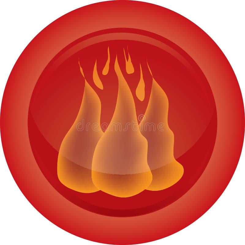 икона пожара бесплатная иллюстрация
