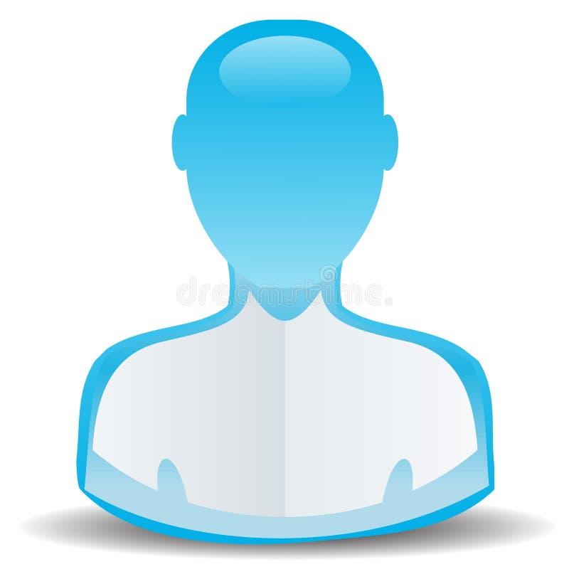 Икона потребителя иллюстрация вектора