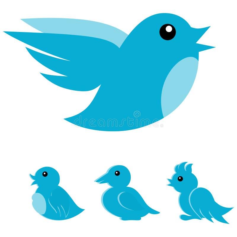 Икона птицы иллюстрация штока