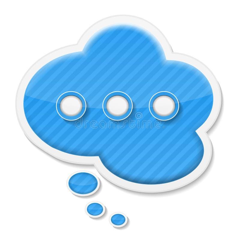 Икона пузыря речи бесплатная иллюстрация