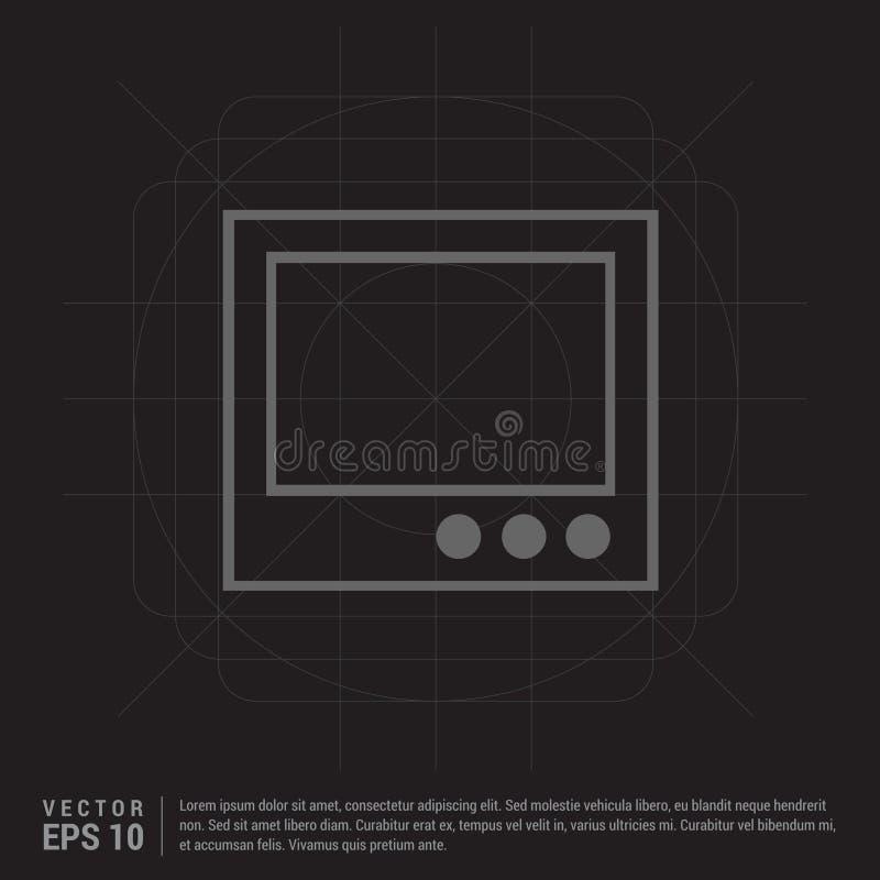 икона ретро tv бесплатная иллюстрация