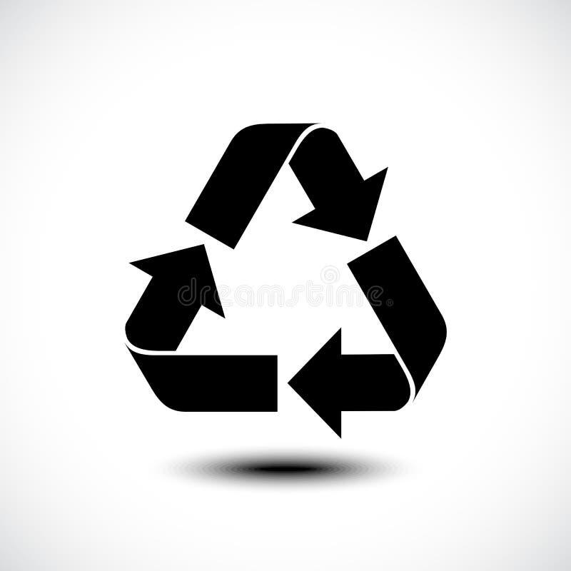 икона рециркулирует иллюстрация штока