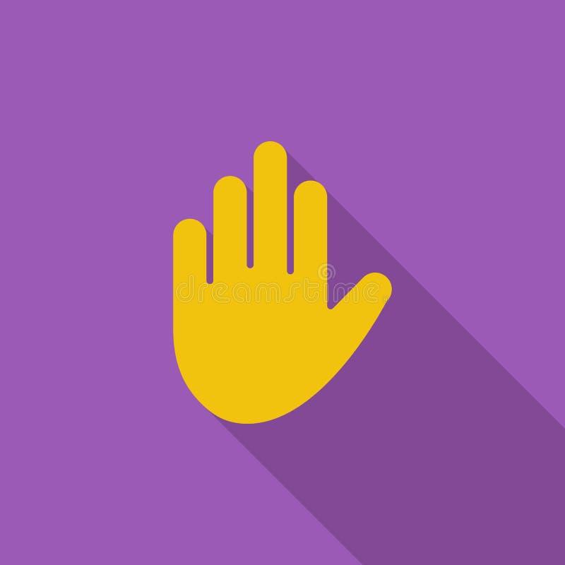 икона руки жеста thumbs вверх иллюстрация вектора