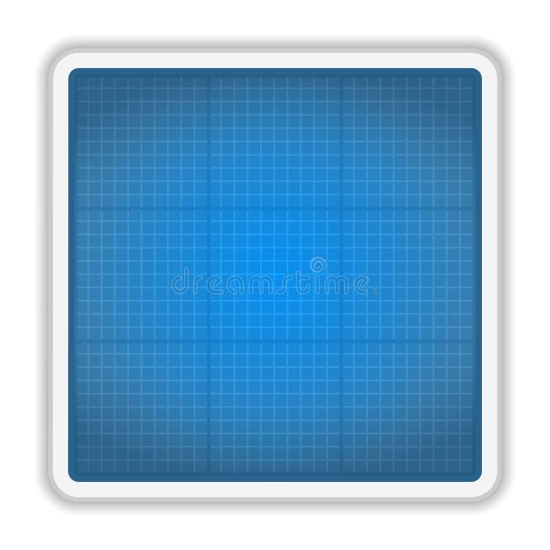 Икона светокопии иллюстрация штока