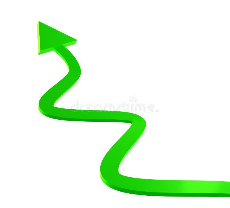 икона стрелки зеленая верхняя иллюстрация штока