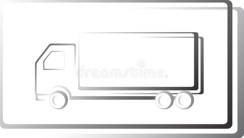 Икона тележки в рамке бесплатная иллюстрация