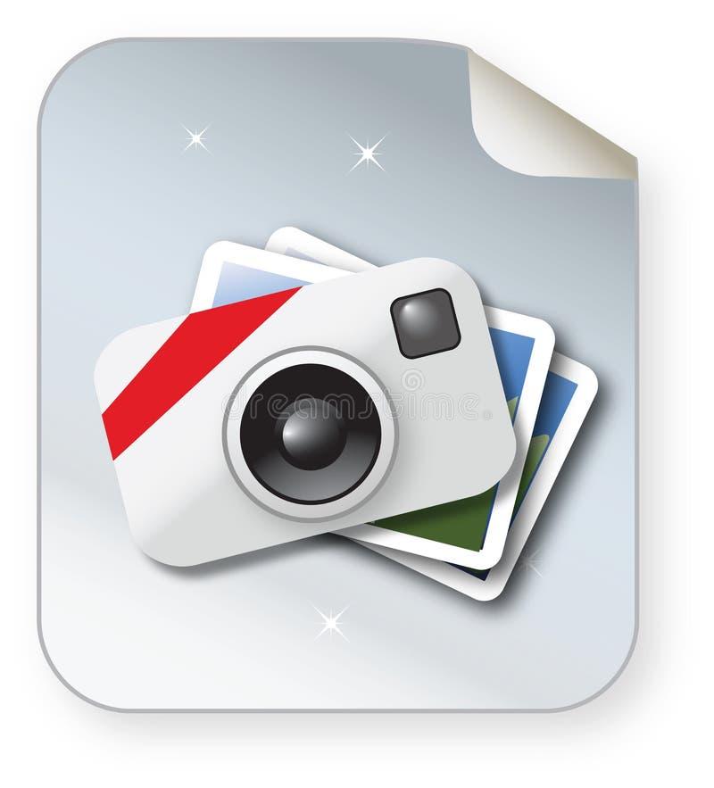 Икона фото бесплатная иллюстрация