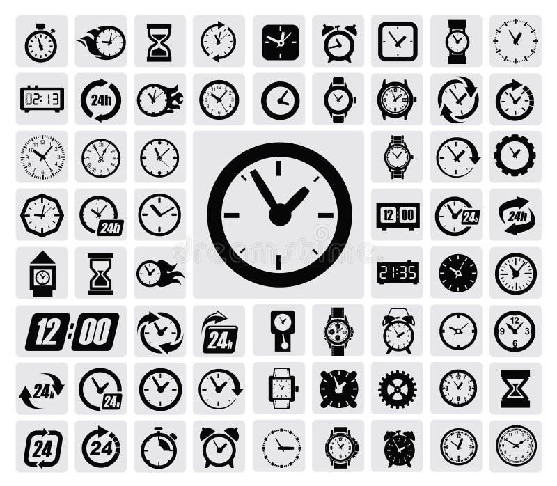 Хронометрирует икону бесплатная иллюстрация