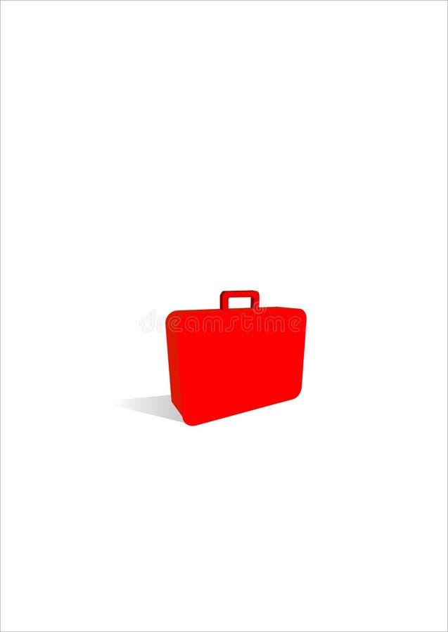Икона чемодана бесплатная иллюстрация
