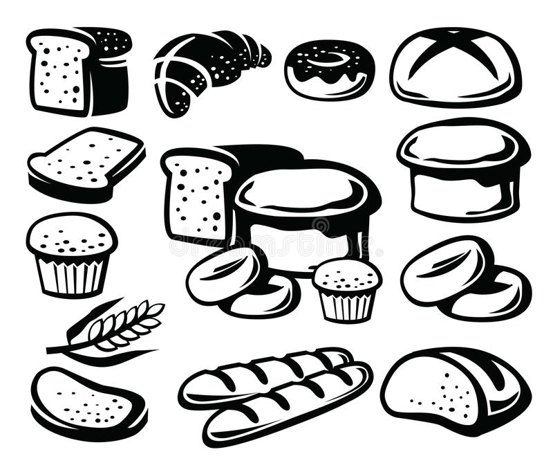 Икона хлеба бесплатная иллюстрация