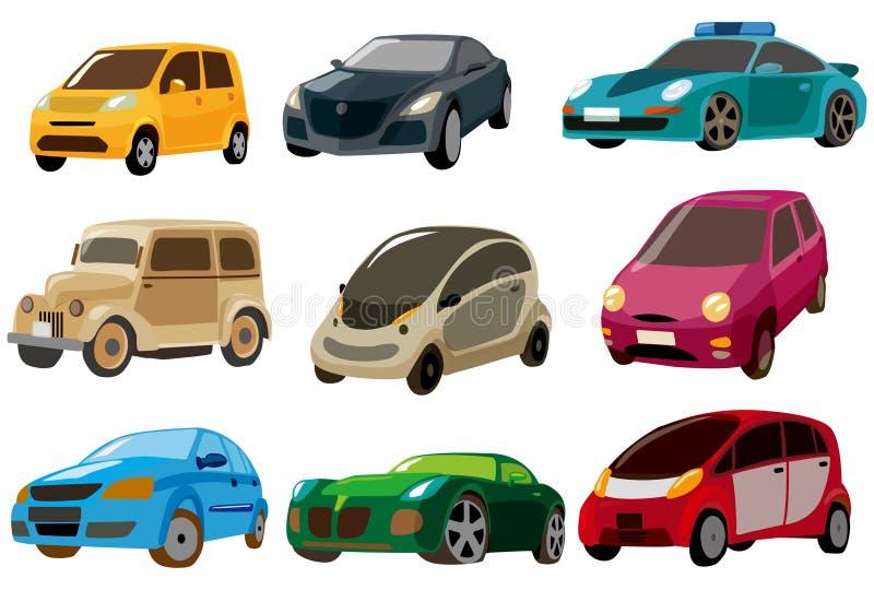 икона шаржа автомобиля бесплатная иллюстрация
