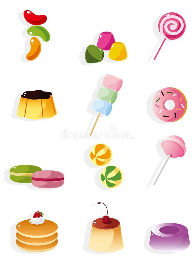 икона шаржа конфеты иллюстрация штока