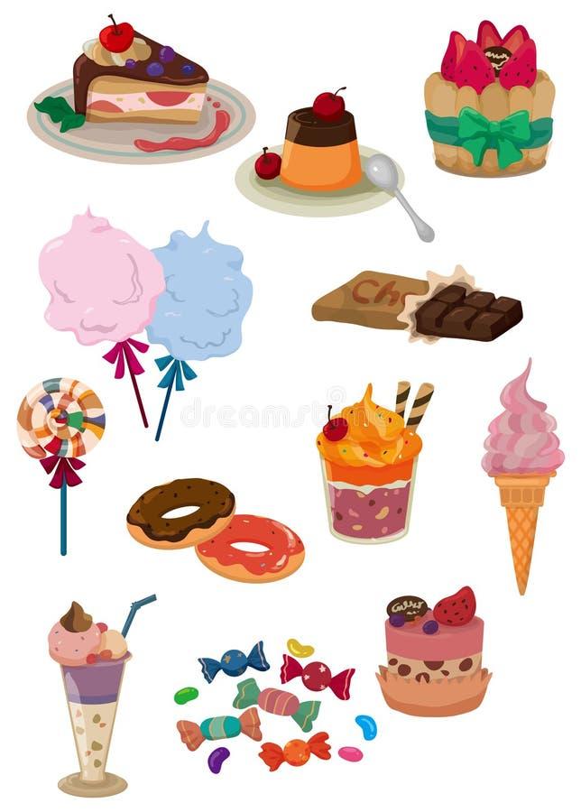 икона шаржа конфеты бесплатная иллюстрация